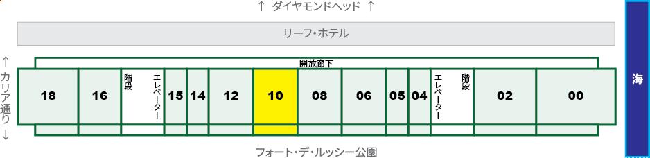 ワイキキショア:XX10号室
